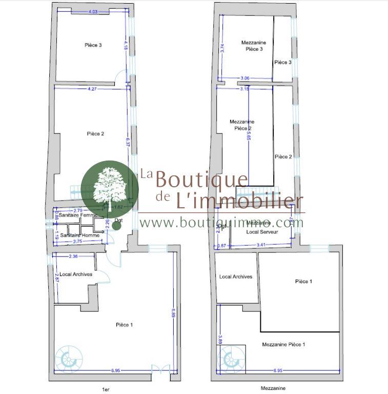 Bureaux  143 m2